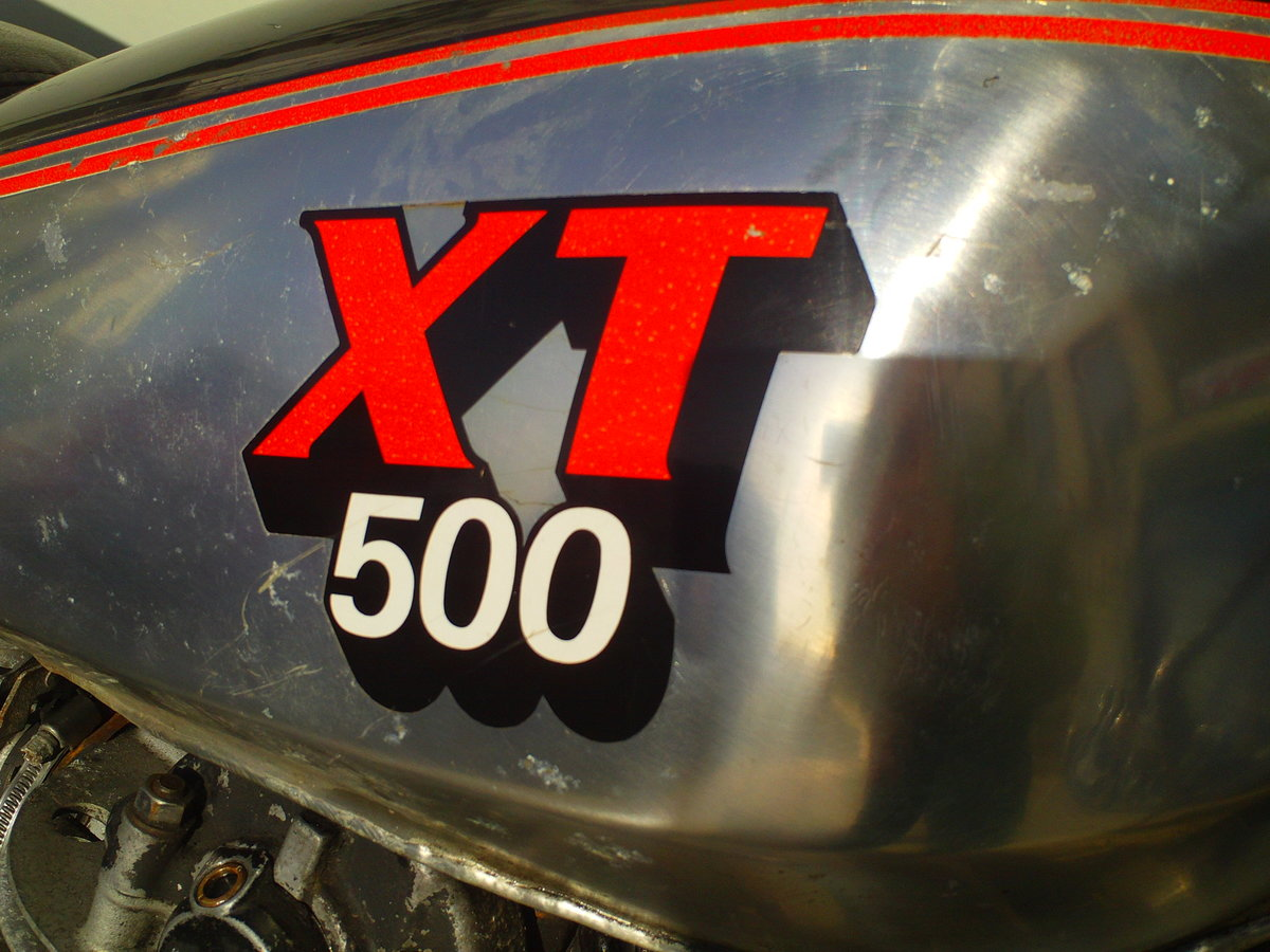 1980 YAMAHA XT500 SOLD (picture 6 of 6)