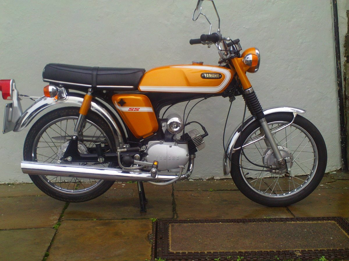 1973 YAMAHA FS1E SS50 SOLD (picture 1 of 6)