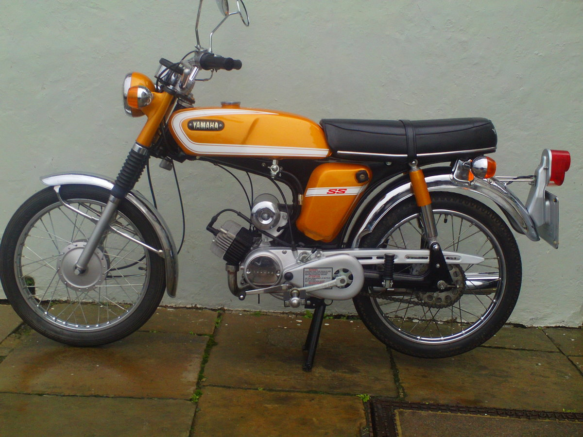 1973 YAMAHA FS1E SS50 SOLD (picture 2 of 6)