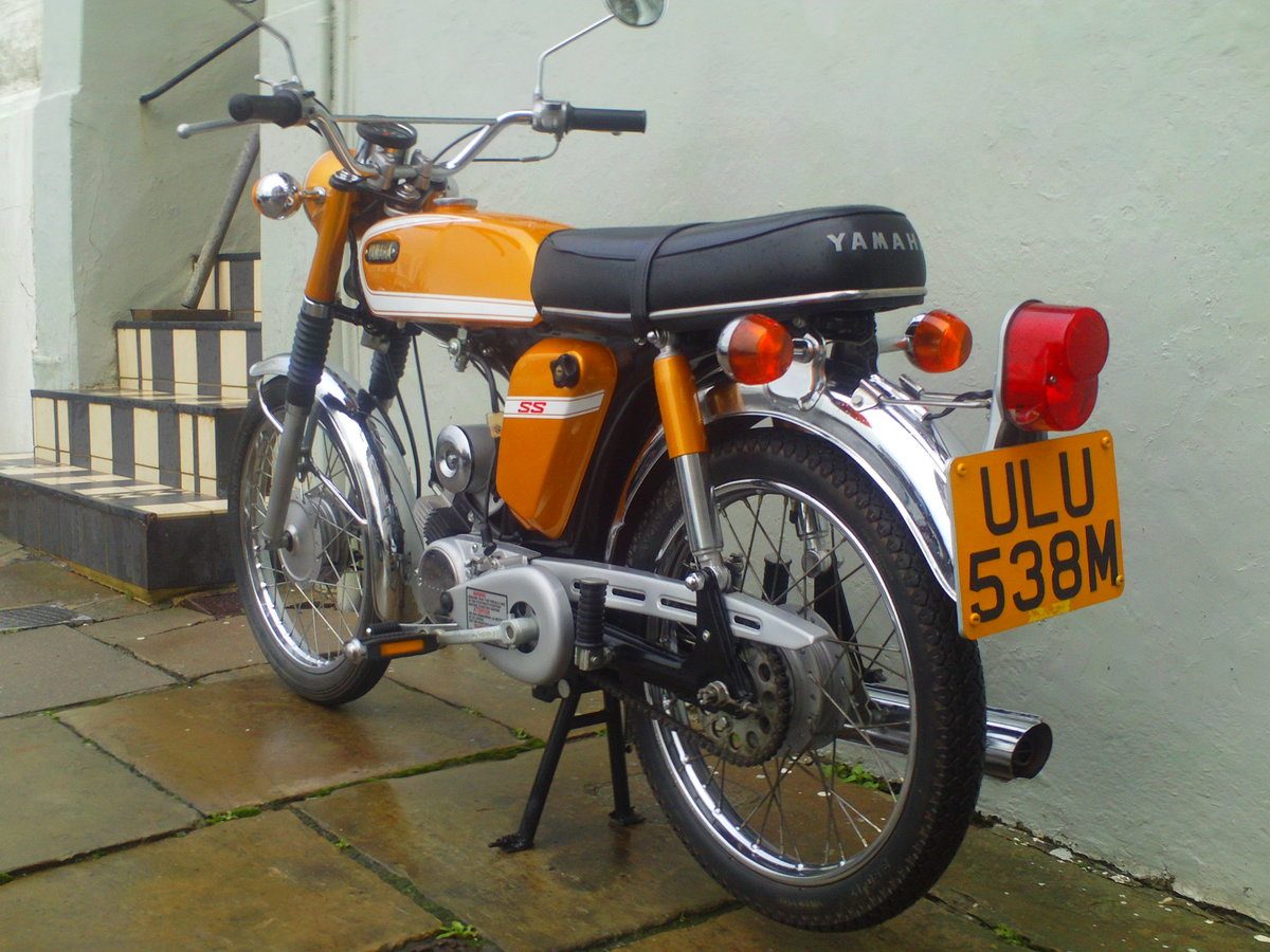 1973 YAMAHA FS1E SS50 SOLD (picture 3 of 6)