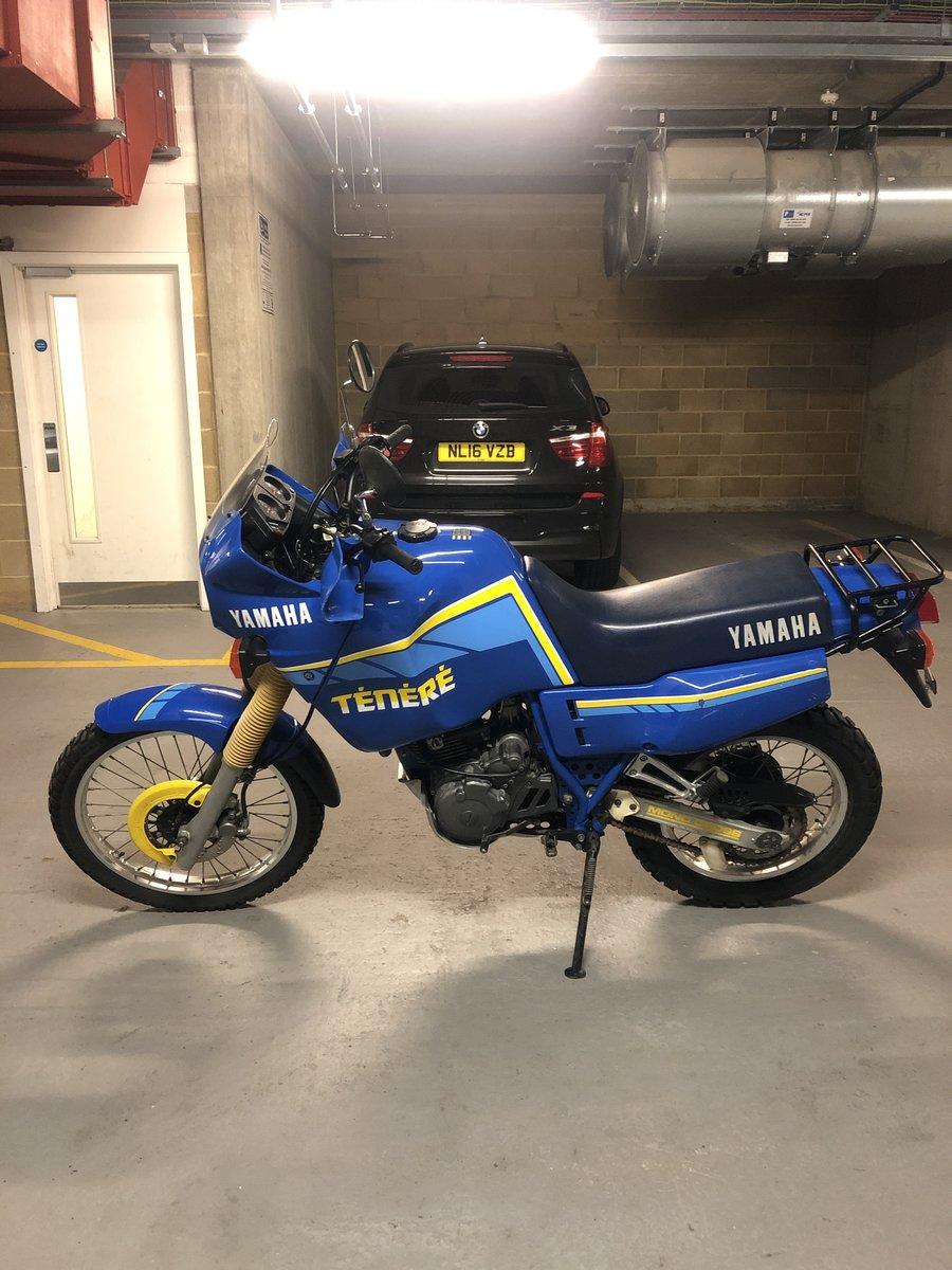 1989 Yamaha Ténéré XT600Z low mileage one owner For Sale (picture 3 of 6)