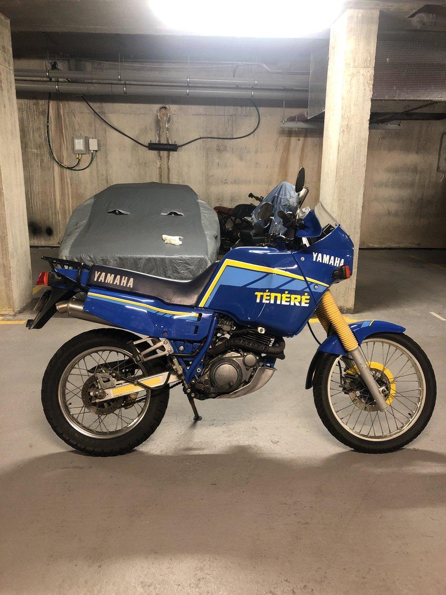 1989 Yamaha Ténéré XT600Z low mileage one owner For Sale (picture 1 of 6)