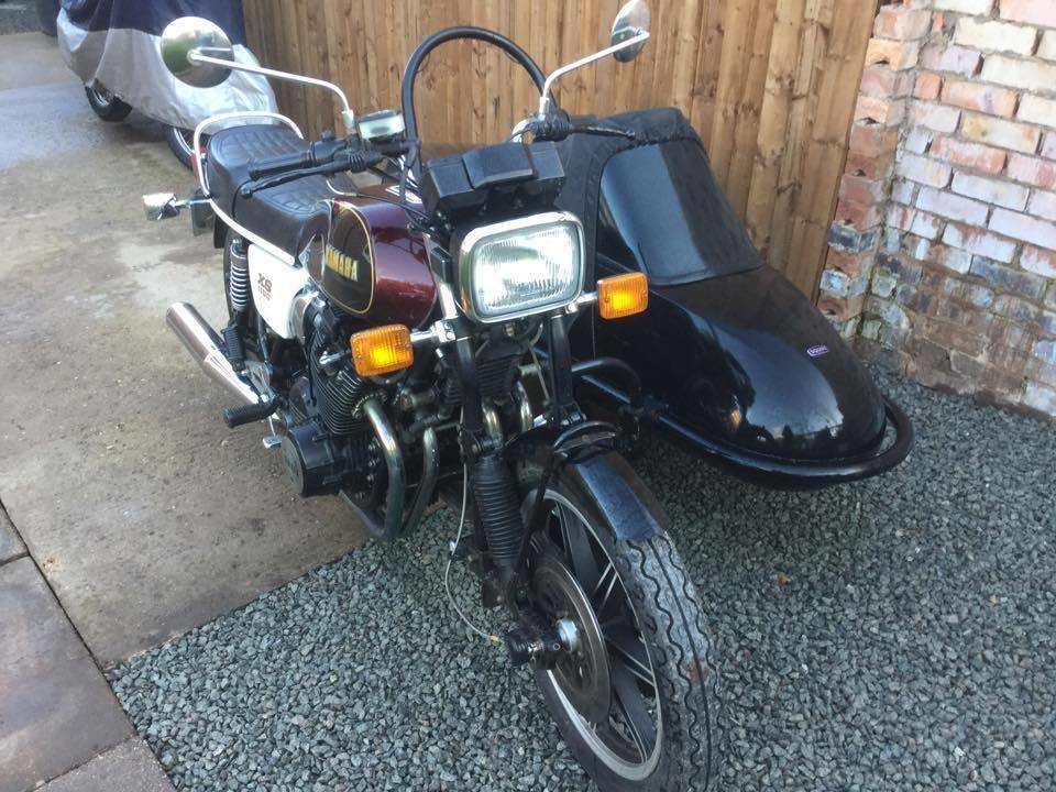 1981 Yamaha xs1100 sidecar outfit only 7,000 miles  For Sale (picture 2 of 6)