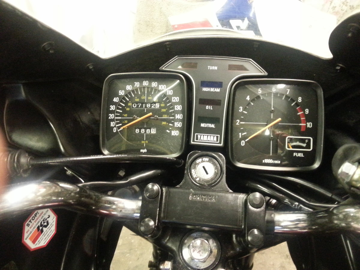 1981 Yamaha xs1100 sidecar outfit only 7,000 miles  For Sale (picture 6 of 6)