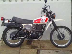 1978 YAMAHA XT500 SOLD