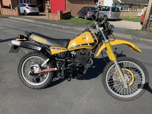 Yamaha XT550  UK bike