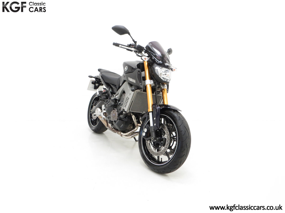 2016 A Stunning Yamaha MT-09 Triple with Just 2,205 Miles SOLD (picture 1 of 24)