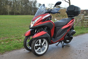 2016 Yamaha 125 Tricity Only 340 Miles For Sale