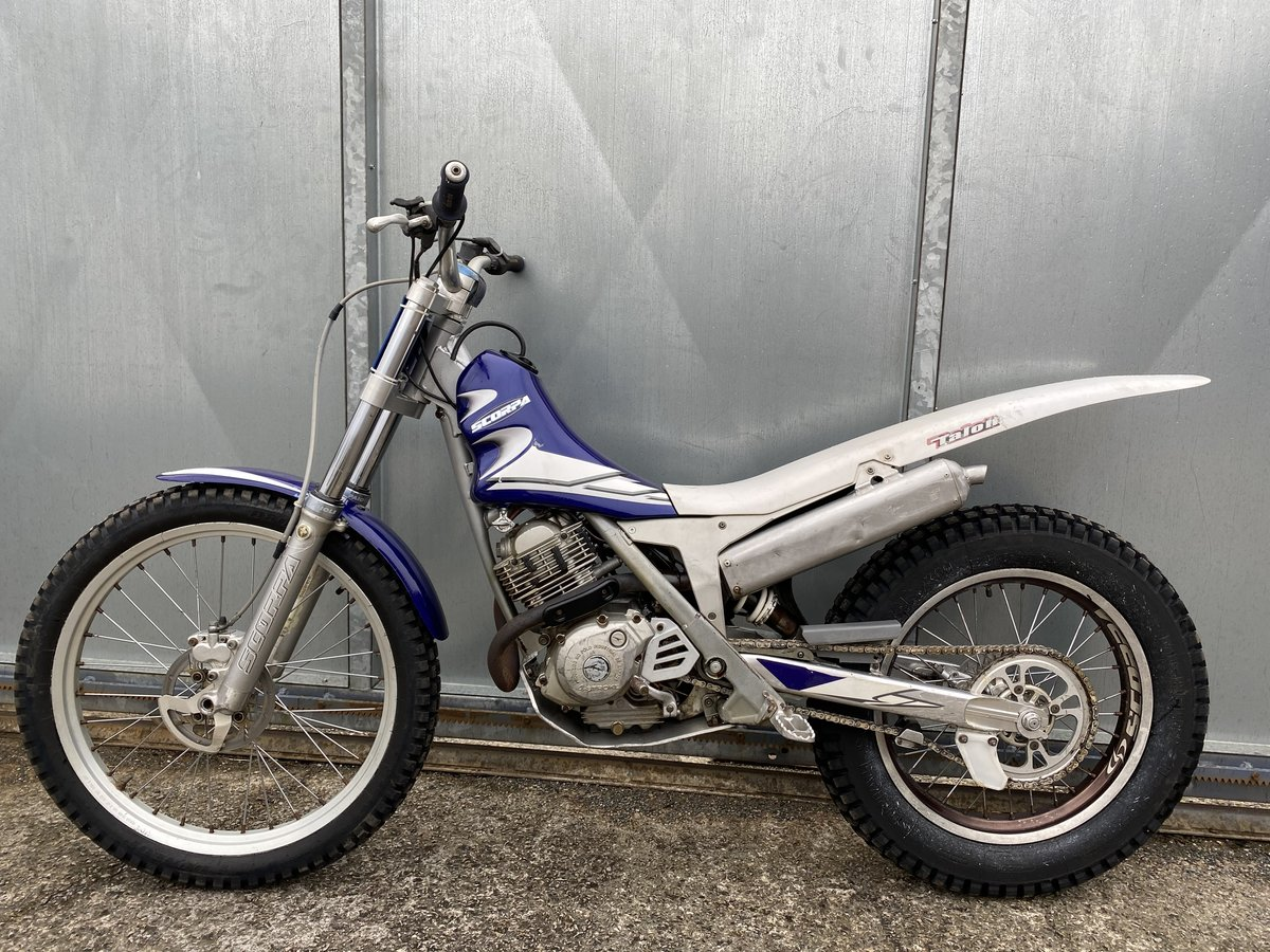 2005 SCORPA SY 175 F TRIALS YAMAHA ENGINE BIKE REGD WITH V5 £2195 For Sale (picture 1 of 6)