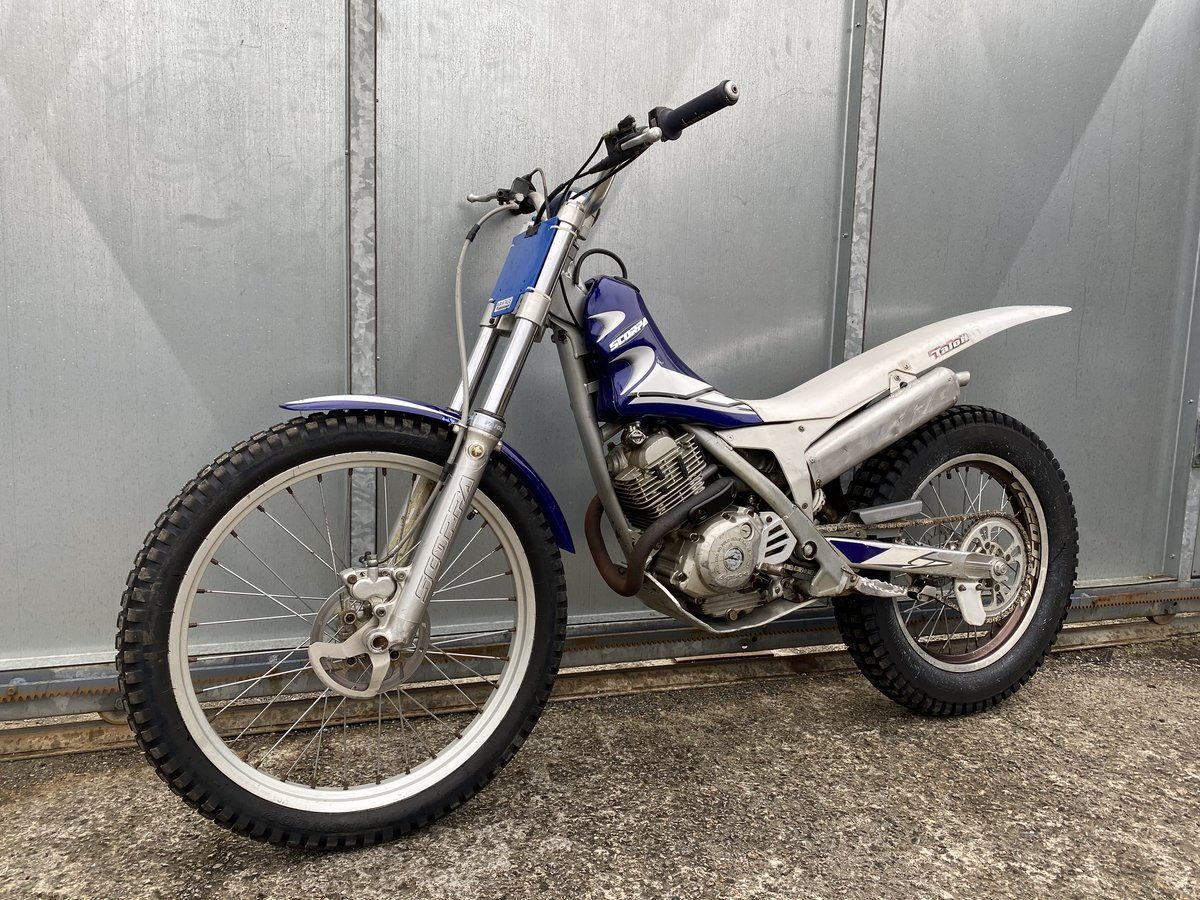 2005 SCORPA SY 175 F TRIALS YAMAHA ENGINE BIKE REGD WITH V5 £2195 For Sale (picture 2 of 6)