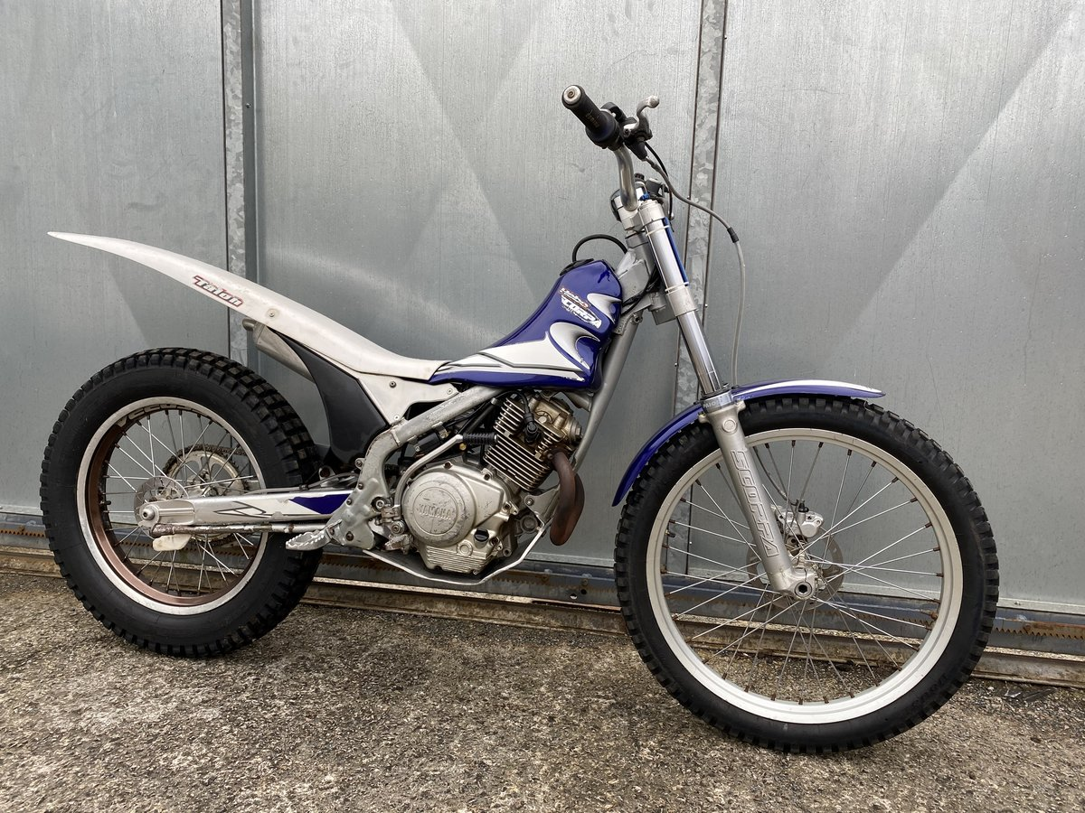 2005 SCORPA SY 175 F TRIALS YAMAHA ENGINE BIKE REGD WITH V5 £2195 For Sale (picture 3 of 6)