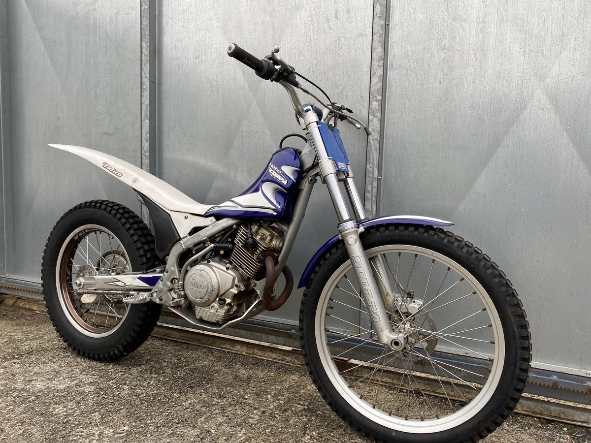 2005 SCORPA SY 175 F TRIALS YAMAHA ENGINE BIKE REGD WITH V5 £2195 For Sale (picture 4 of 6)