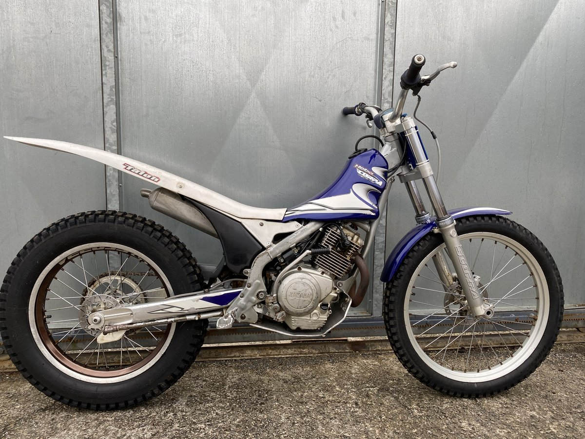 2005 SCORPA SY 175 F TRIALS YAMAHA ENGINE BIKE REGD WITH V5 £2195 For Sale (picture 5 of 6)