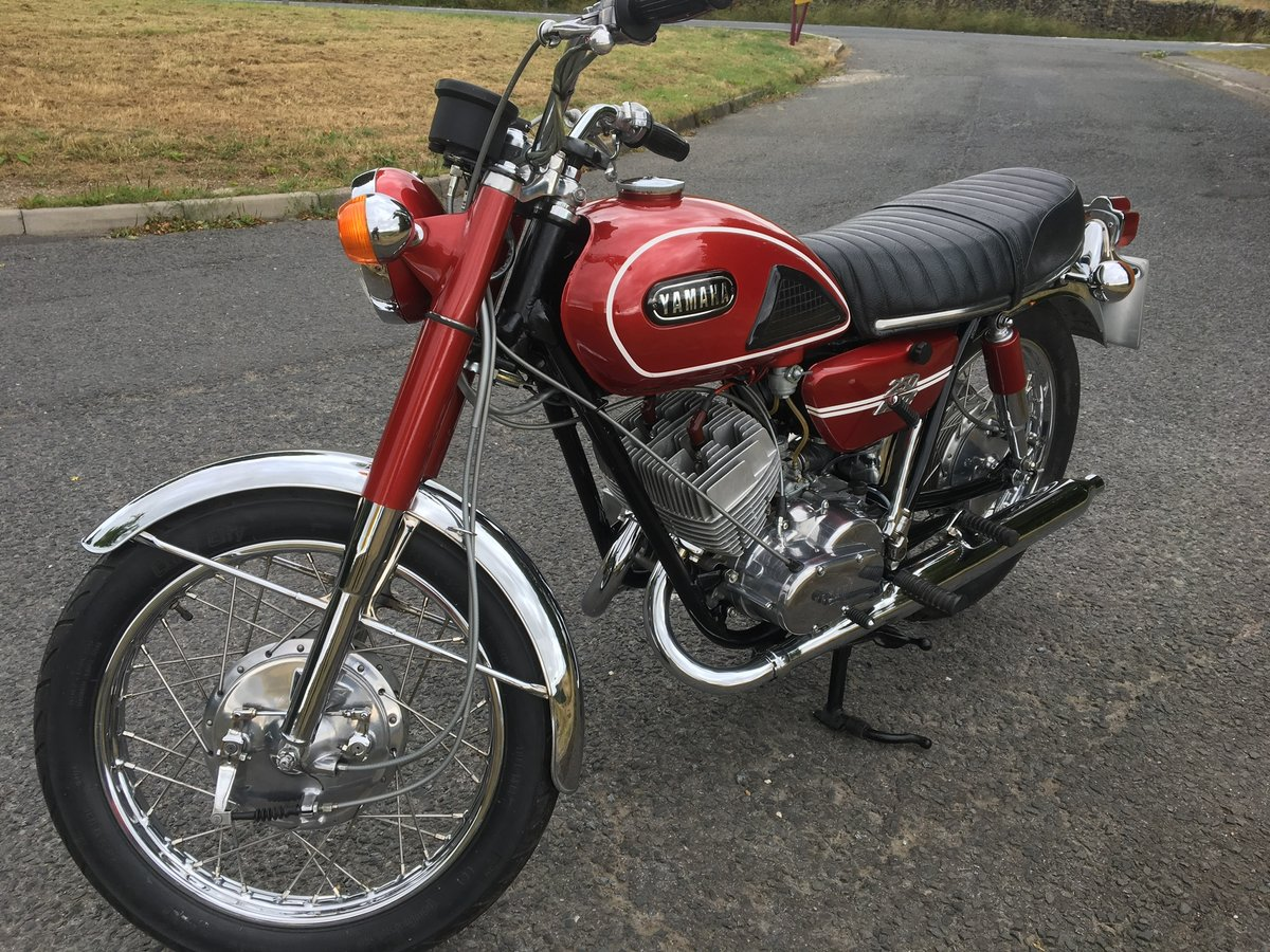 1971 Yamaha YDS6 as new condition For Sale (picture 2 of 6)