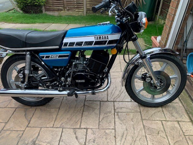 1977 RD400-UK Registered SOLD (picture 3 of 6)