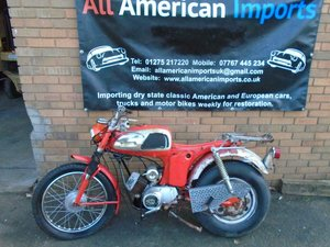 YAMAHA YL2C 100 TRAILMASTER MOTORBIKE (1966)