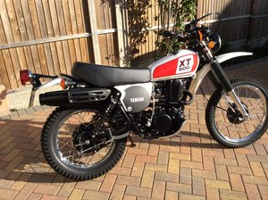 1977 Yamaha XT500 Stunning Condition Take a Look