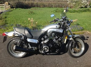 Yamaha VMax 1200 full power GB model.