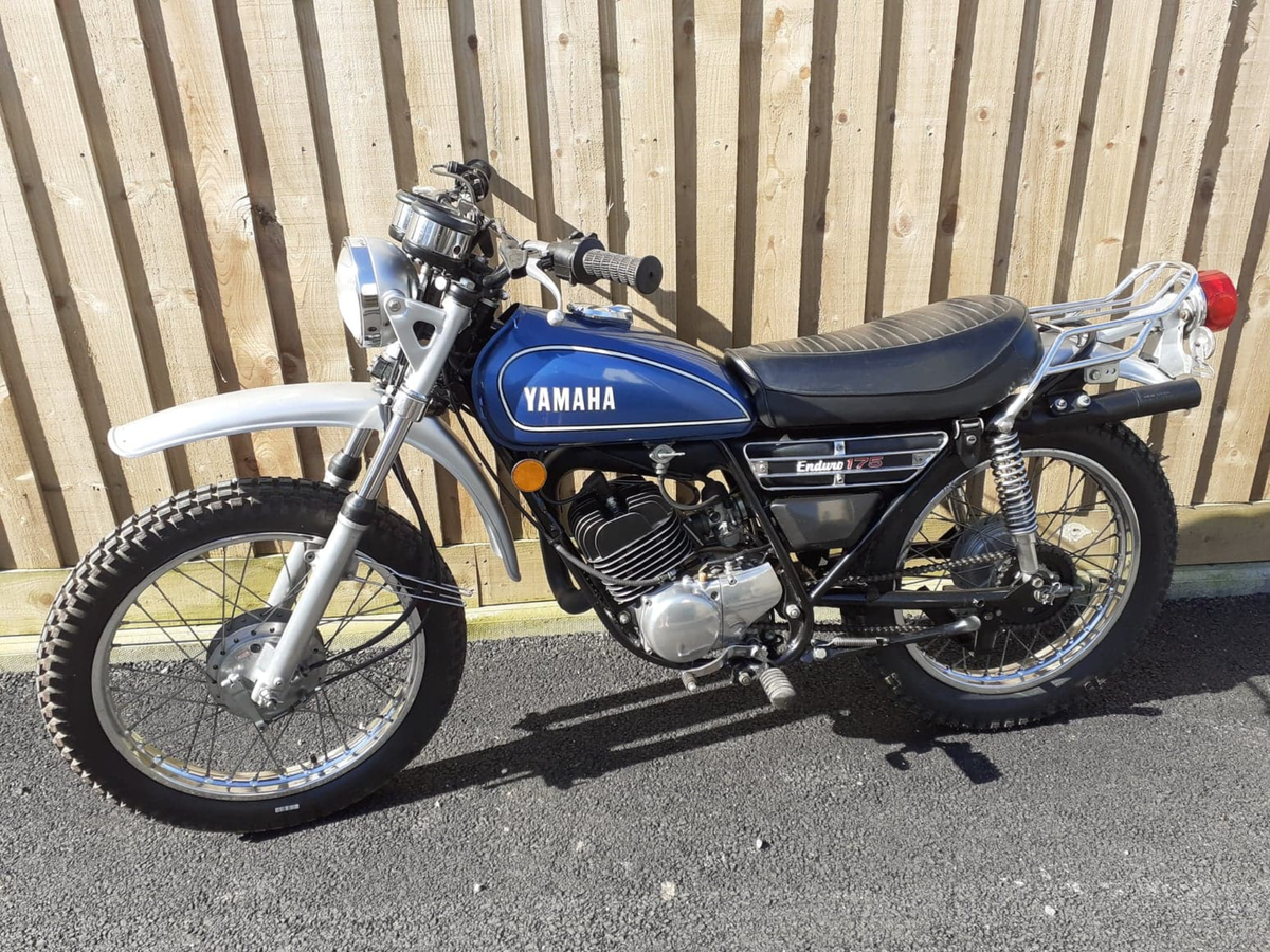 1975 Yamaha dt 175 SOLD (picture 1 of 5)