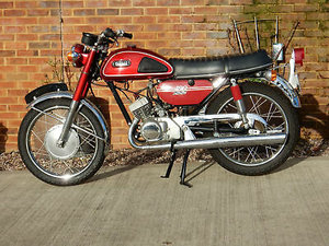 Yamaha 180cc Model CS-2E  1970  Matching Number For Sale
