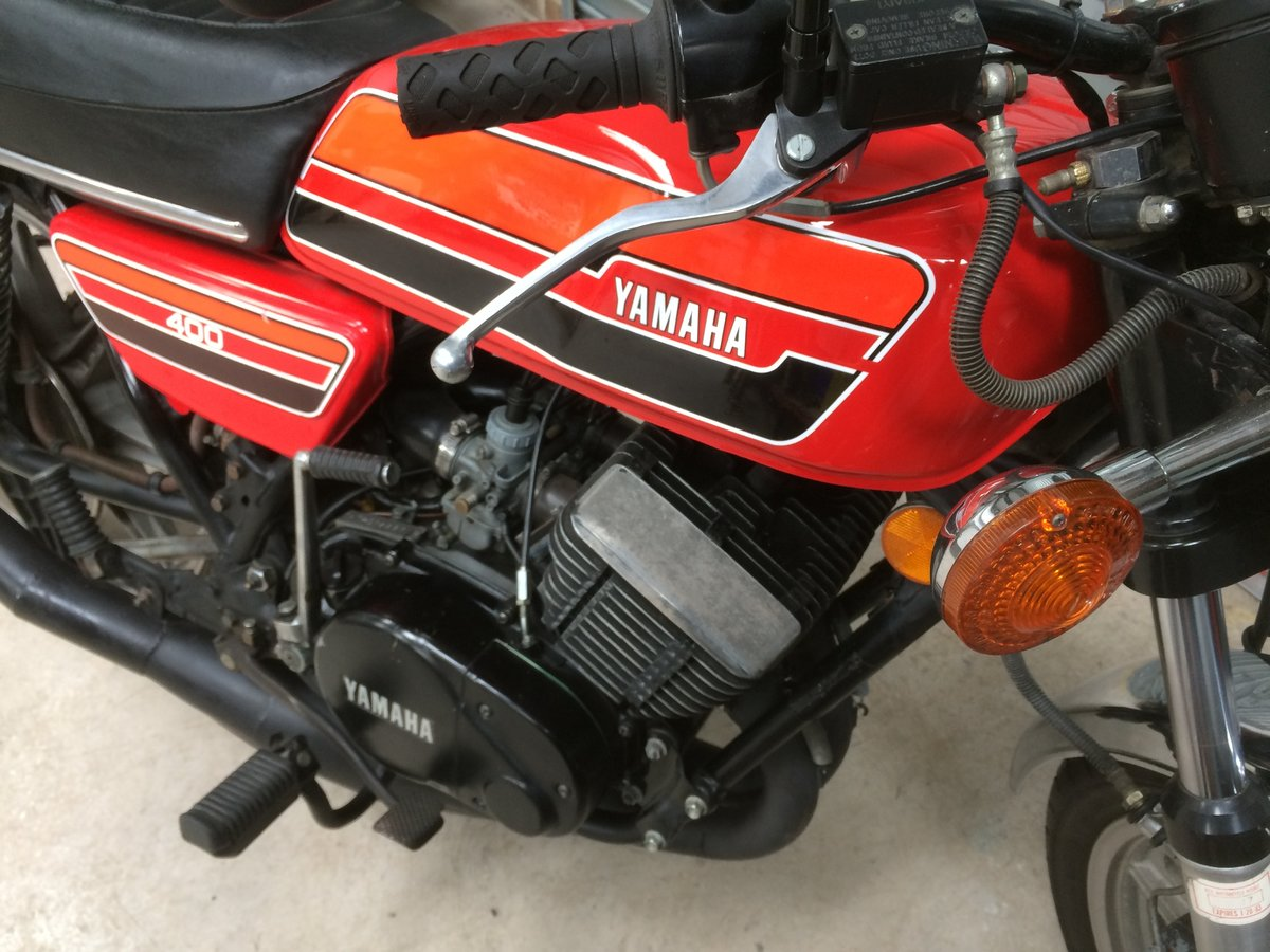 1976 Yamaha RD400 For Sale (picture 5 of 5)