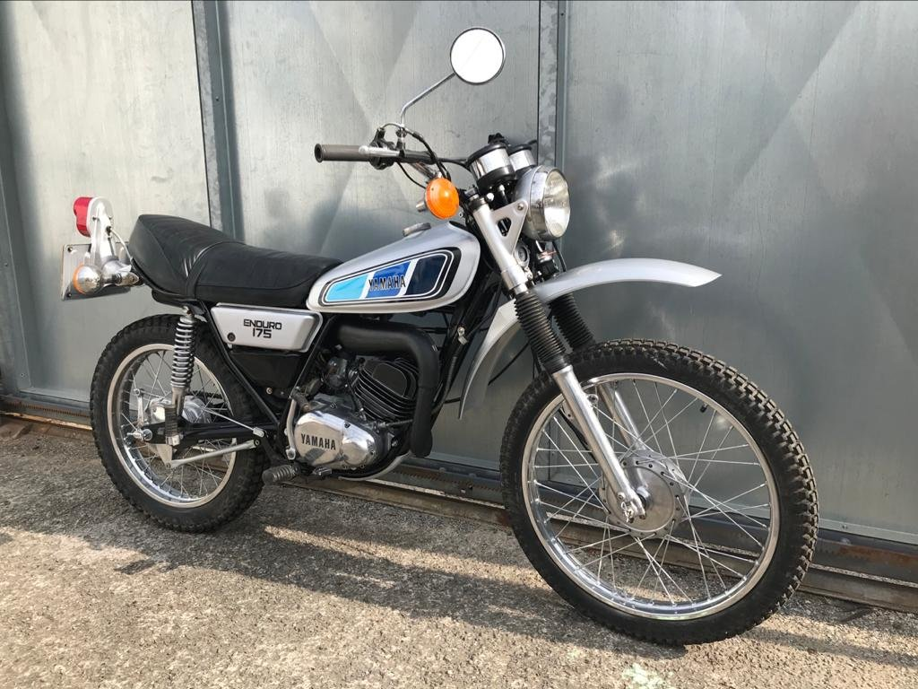 1976 YAMAHA DT 175 TRAIL TRIAL RARE ENDURO BELTIN BIKE! £3995 PX  For Sale (picture 4 of 6)