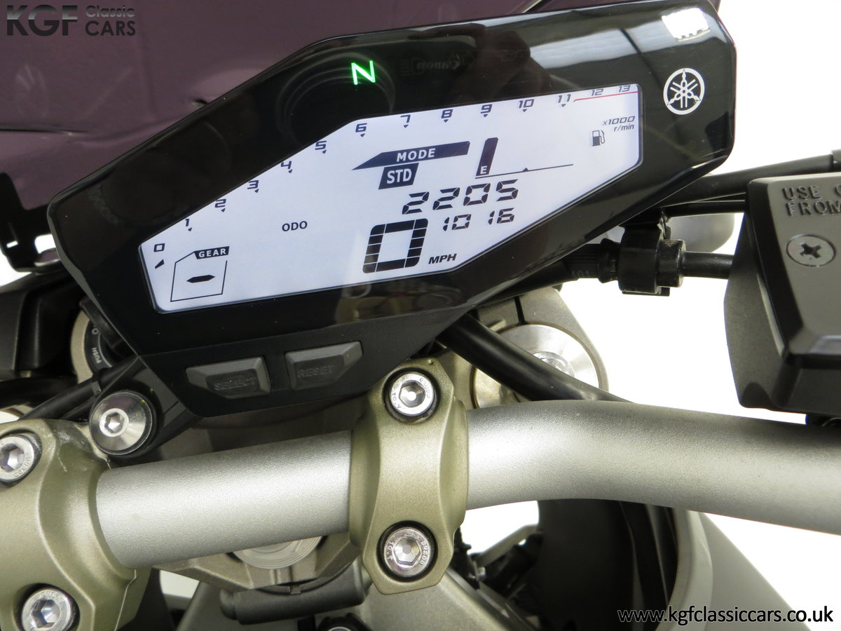 2016 A Stunning Yamaha MT-09 Triple with Just 2,205 Miles SOLD (picture 20 of 24)