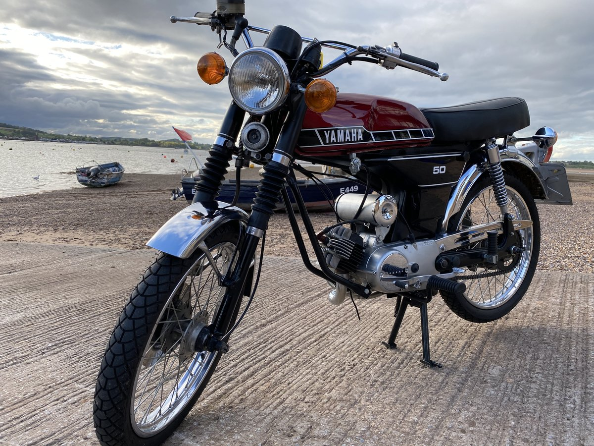 1979 Yamaha Fizzy 50 Red For Sale (picture 1 of 6)