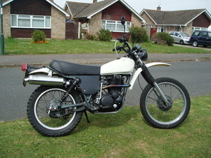 Yamaha XT500 UK bike