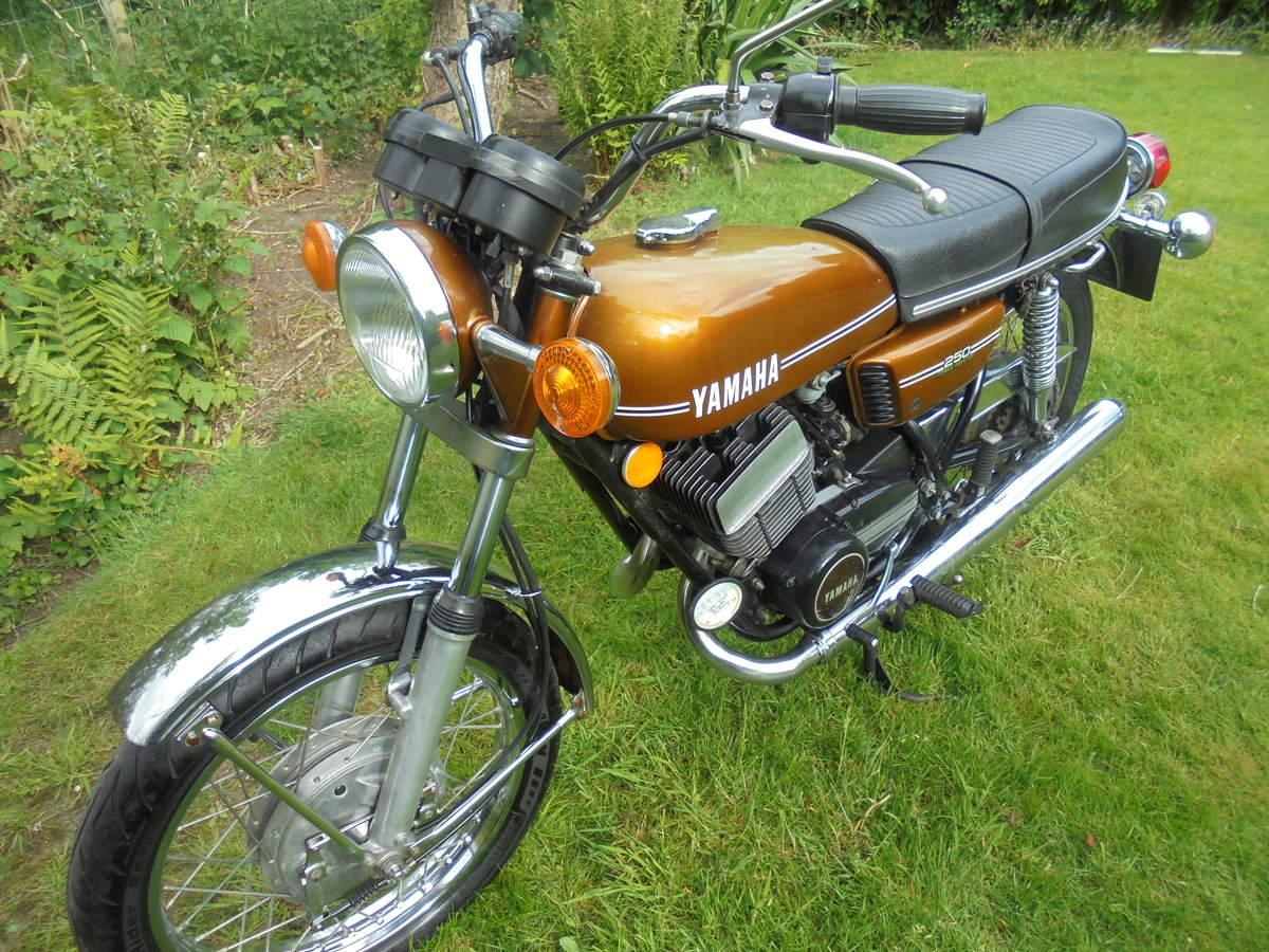 1974 Yamaha rd250a torue induction immaculate bike For Sale (picture 1 of 6)