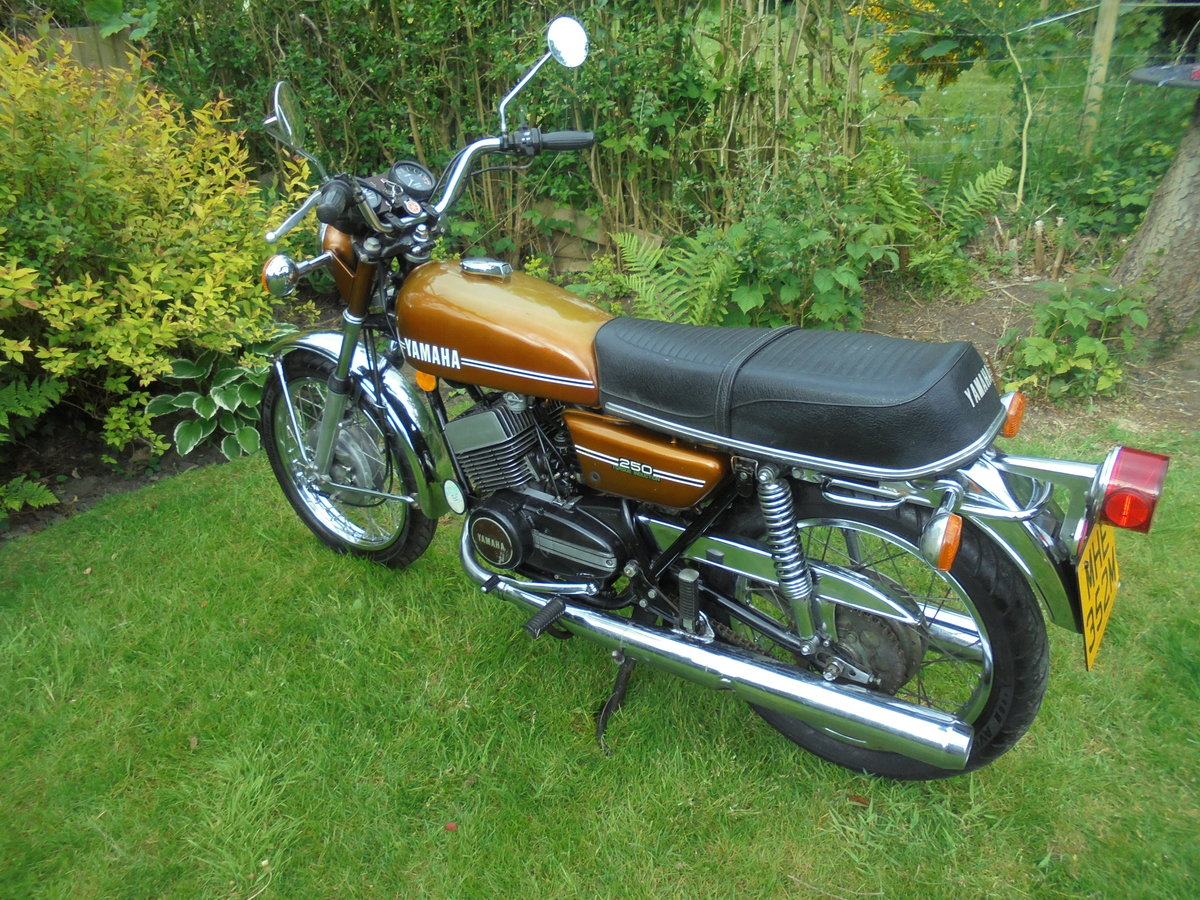 1974 Yamaha rd250a torue induction immaculate bike For Sale (picture 2 of 6)