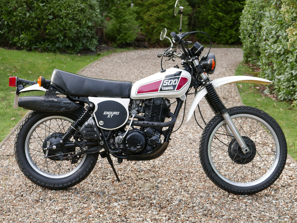 Yamaha XT500 1977 SOLD (picture 1 of 6)