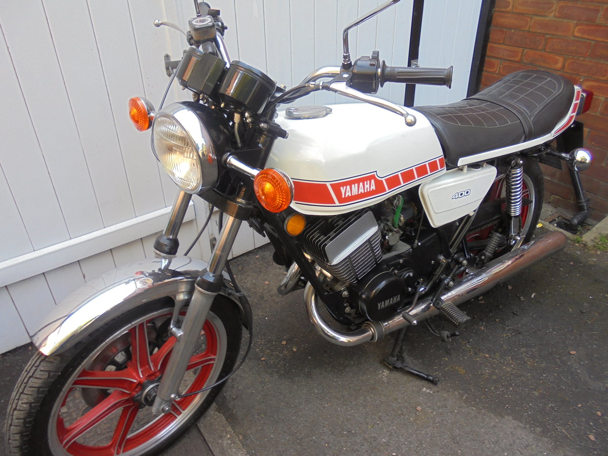 1980 yamaha rd400e immaculate SOLD (picture 1 of 6)