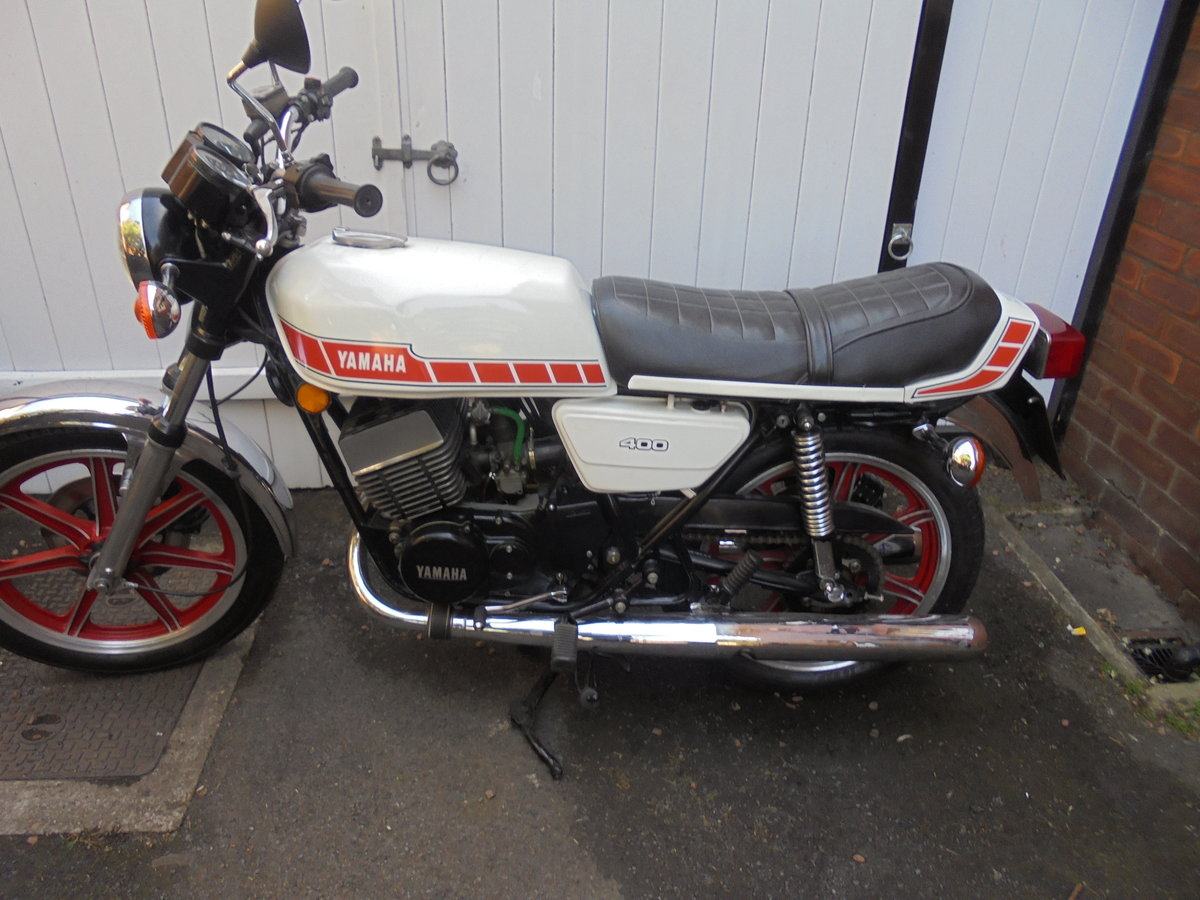 1980 yamaha rd400e immaculate SOLD (picture 2 of 6)