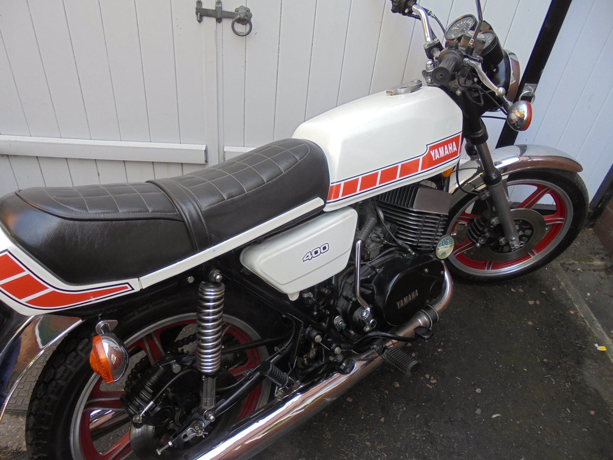 1980 yamaha rd400e immaculate SOLD (picture 6 of 6)