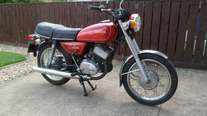 Classic Yamaha 200cc two stroke twin