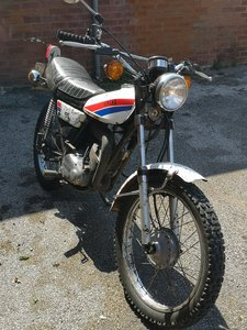 Yamaha DT100. Low miles, MOT'd and in use. Sw