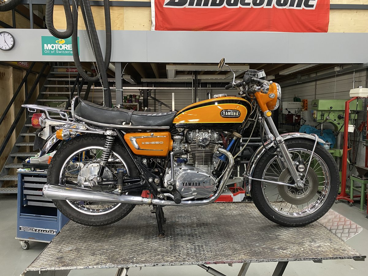 1972 Yamaha XS2 650 For Sale (picture 1 of 6)