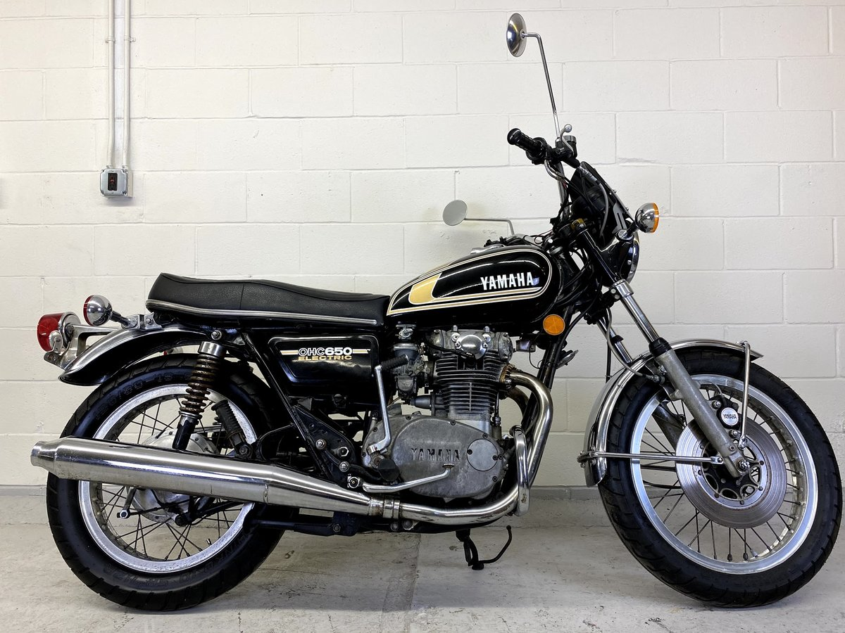 1975 Yamaha XS650 SOLD (picture 1 of 5)