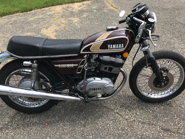 1975 Yamaha XS500 For Sale (picture 3 of 6)