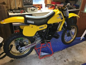 Yamaha YZ490J Classic Motocross Bike