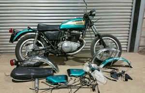 YAMAHA TX750 1973 PROJECT VERY RARE WITH V5C  SOLD