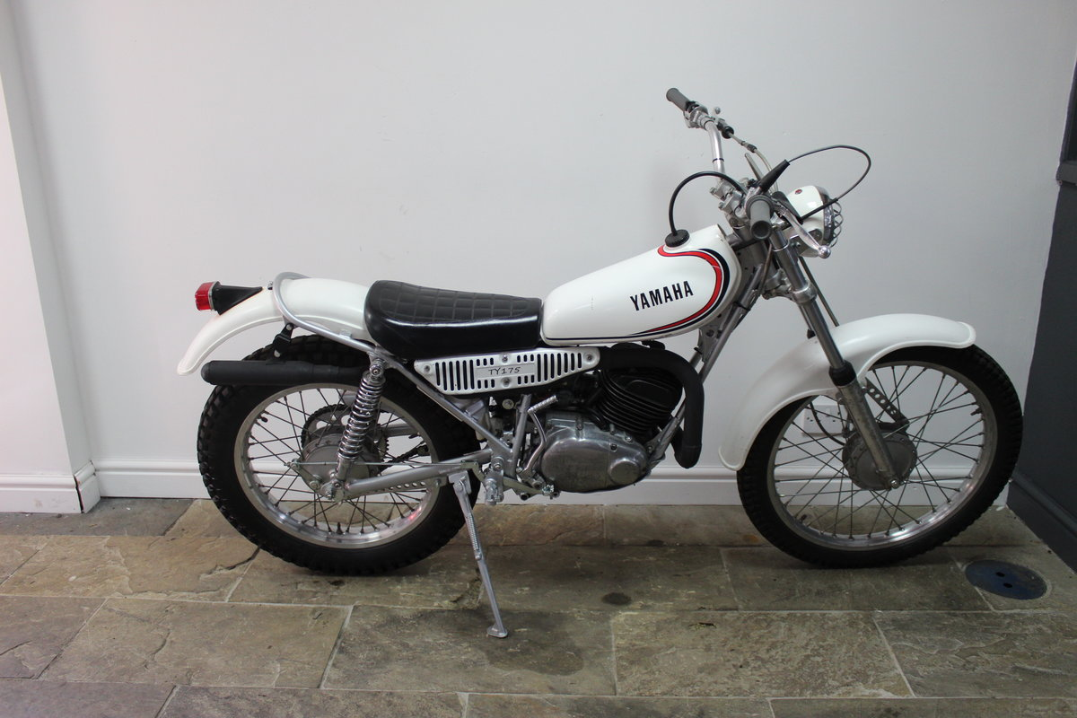 1980 Yamaha TY175 Trials Bike With Original Lights For Sale (picture 1 of 6)