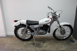 c1980 Yamaha TY175 Trials Bike With Original Lights