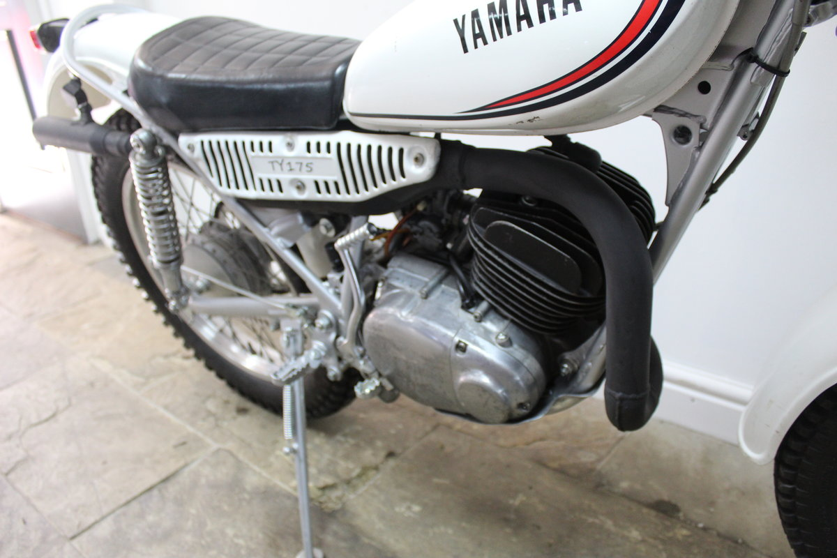 1980 Yamaha TY175 Trials Bike With Original Lights For Sale (picture 4 of 6)