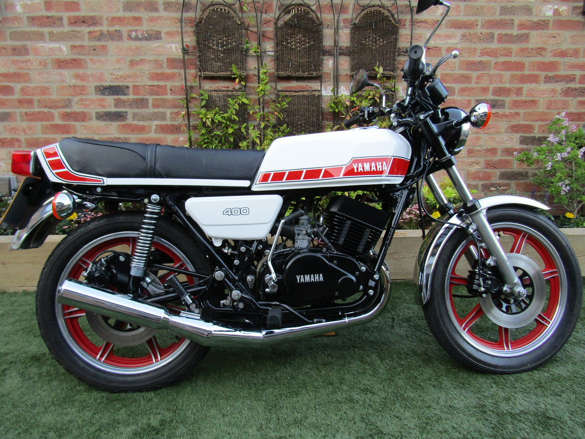 1978 Yamaha RD400 UK Bike Matching Frame + Engine SOLD (picture 1 of 6)