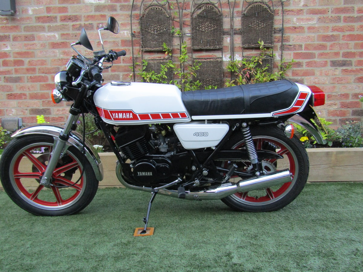 1978 Yamaha RD400 UK Bike Matching Frame + Engine SOLD (picture 2 of 6)
