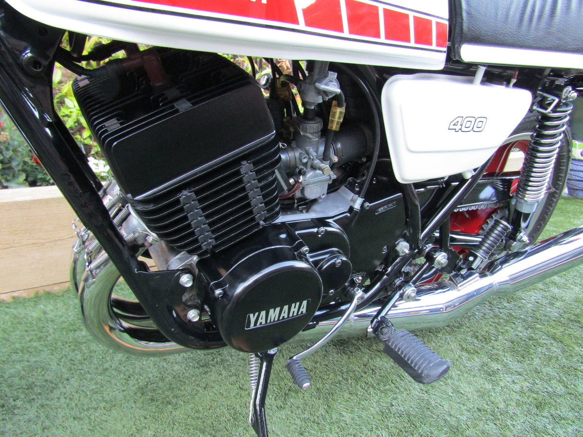 1978 Yamaha RD400 UK Bike Matching Frame + Engine SOLD (picture 4 of 6)