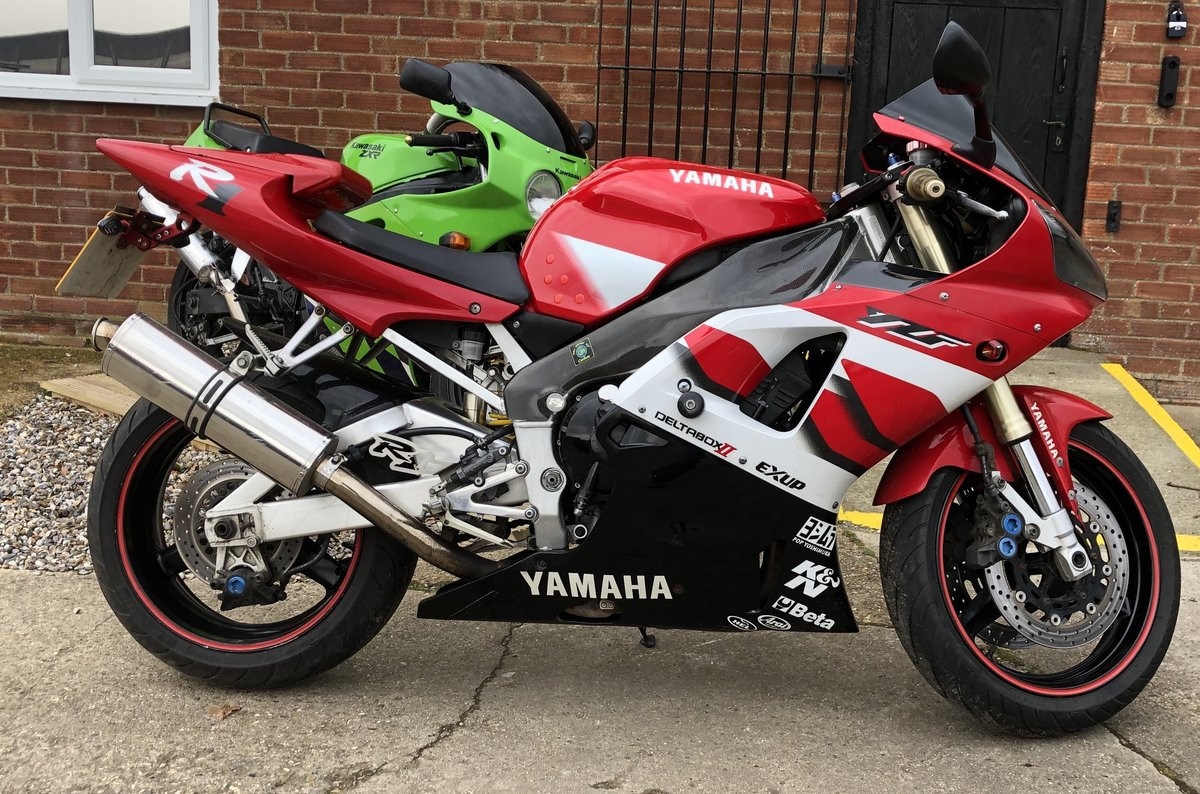 2000 YAMAHA YZF R1 5JJ For Sale (picture 6 of 6)