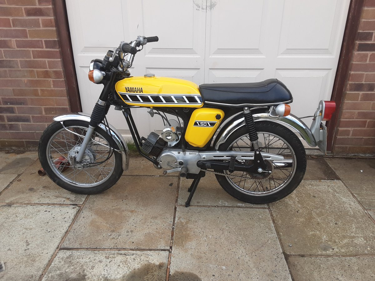 1987 Yamaha  FS1 FS1 E 50CC For Sale (picture 2 of 2)